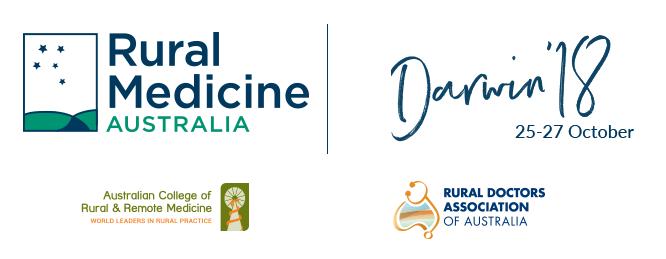 Rural Medicine Australia | RMA Darwin 2018